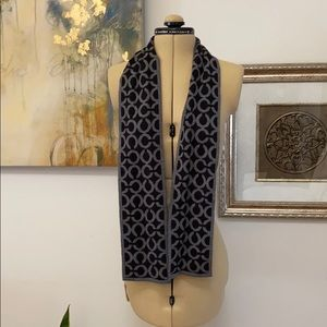 Coach Reversible Merino Wool Scarf